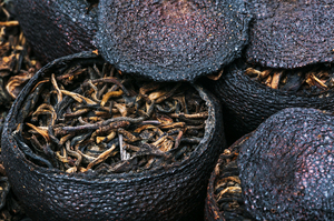 Puer Raw in Mandarin fruit (2009)
